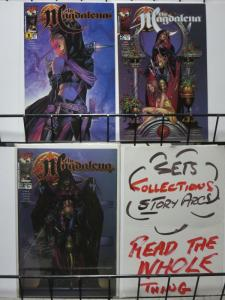 MAGDALENA (2000 TOP COW) 1b,2-3a  Complete! COMICS BOOK