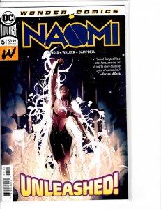 Naomi (2019) #5 NM- (9.2) 1st print