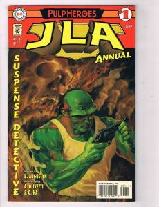 JLA: Pulp Heroes #1 VG/FN DC Comics Comic Book Augustyn 1997 DE39 AD12