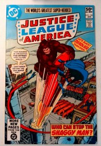 Justice League of America #186 DC 1981 VF/NM Bronze Age Comic Book 1st Print