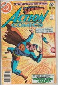 Action Comics #489 (Nov-78) NM- High-Grade Superman