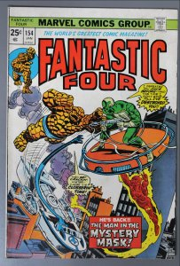 Fantastic Four  #154      VF/Better Actual Pictures