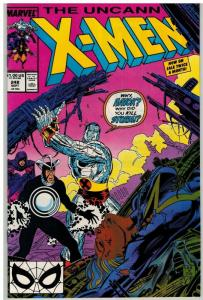 X MEN 248 VF-NM except 1/4 tr on back cover Sept. 1989