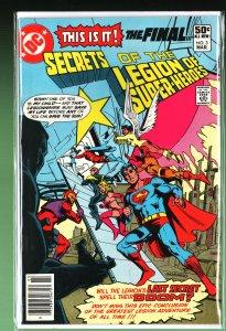 Secrets of the Legion of Super-Heroes #3 (1981)
