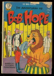 ADVENTURES OF BOB HOPE #7 1951-DC COMICS-CIRCUS COVER G+