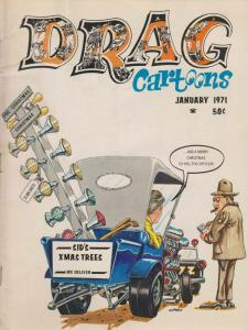 Drag Cartoons (vol. 3) #5 VG; Professional | low grade comic - save on shipping