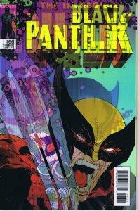 Black Panther #166 Lenticular Cover 2017 Marvel Comics Hulk 340 Homage Wolverine