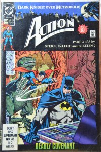 Action Comics #654 (1990) NM