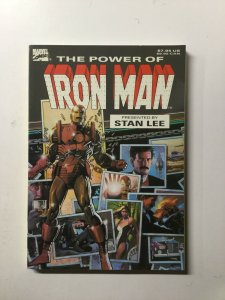 The Power Of The Iron Man Tpb Sc Softcover Near Mint Nm Marvel