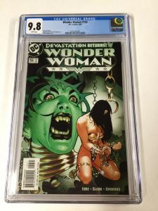 Wonder Woman 156 Cgc 9.8 White Pages Dc Adam Hughes Cover Ah!