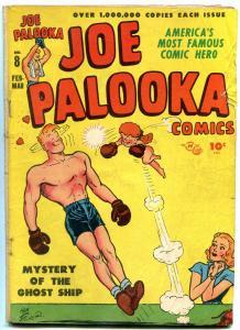 Joe Palooka #8 1947- Harvey Golden Age- Boxing- Ghost Ship VG-