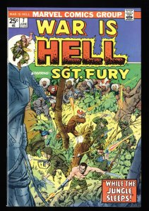 War is Hell #7 NM 9.4 Sgt. Fury!