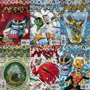 THANOS INFINITY ABYSS (2002) 1-6  Jim Starlin  COMPLETE