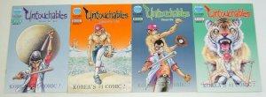 Untouchables #1-4 VF/NM complete series - eastern comics - korea's #1 comic -set