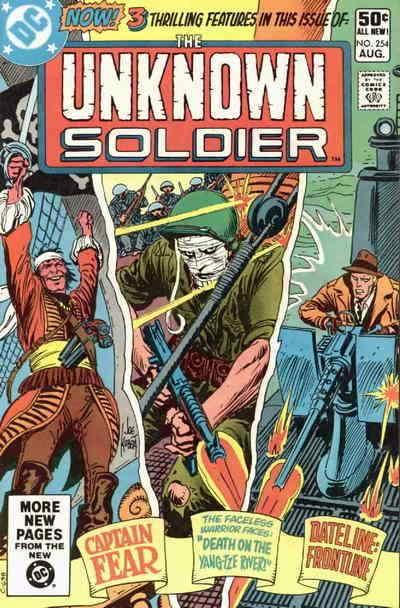 Unknown Soldier #254 FN; DC | save on shipping - details inside