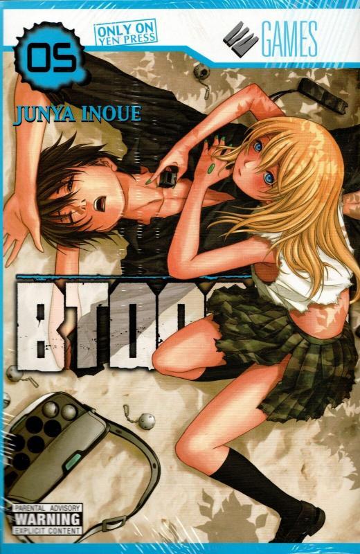 Btooom! Graphic Novel Vol 5 (Yen, 2013) New!