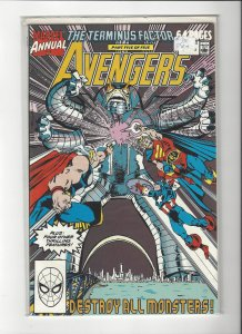 The Avenger (Vol 1) Annual #19 The Terminus Factor Marvel Comic NM