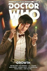 Doctor Who: The Eleventh Doctor Year Three HC #1 VF/NM; Titan | save on ship