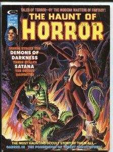 Haunt Of Horror #5 1975-Dick Giordano cover Marvel-Satana