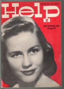 Help #2 1954-Southern California college humor mag-USC-UCLA-Loyola-VG
