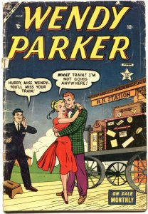 WENDY PARKER #1-1953-PATSY WALKER APPEARS-ROMANCE COVER-STAN LEE-VERY RARE-GI...