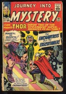 Journey Into Mystery #103 GD 2.0 1st Enchantress!