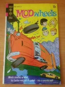 Mod Wheels #4 ~ FINE FN ~ 1971 Gold Key COMICS