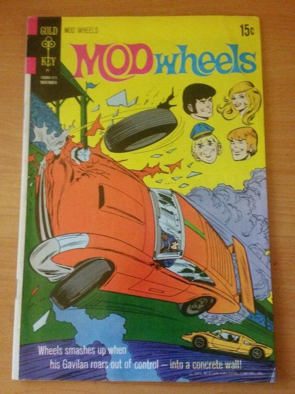 Mod Wheels #4 ~ FINE FN ~ 1971 Gold Key COMICS