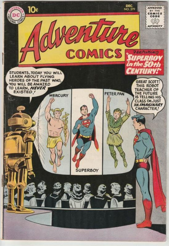 Adventure Comics #279 (Dec-60) VF High-Grade Superboy