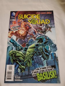 Suicide Squad 10 Near Mint Cover by Ken Lashley