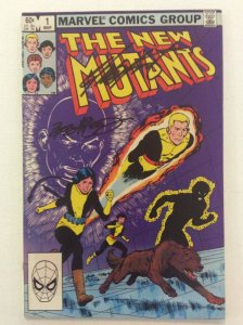NEW MUTANTS #1 - Signed by Creators: Chris Claremont & Bob McLeod with COA