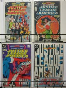 JUSTICE LEAGUE OF AMERICA 258-261 End Of The...