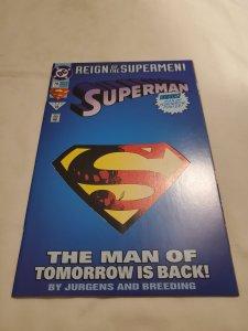 Superman 78 Near Mint-