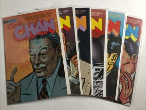 Charlie Chan 1-6 1 2 3 4 5 6 Lot Nm Near Mint Eternity Comics