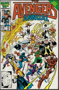 Avengers #15 Annual (Marvel, 1986) NM
