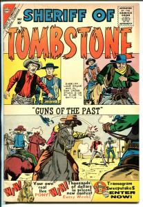 Sheriff of Tombstone #9 1960-Charlton-Jack Keller-Black Fury-VG/FN