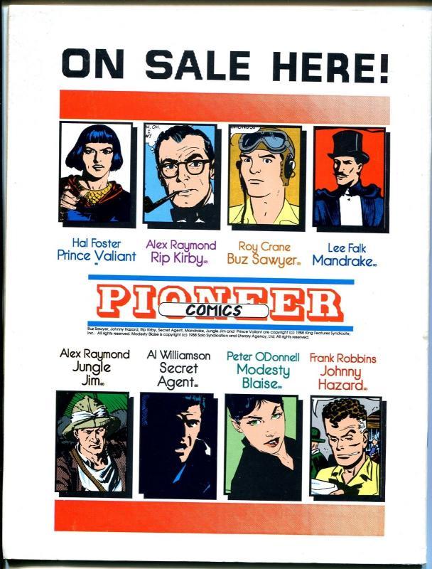 Comics Revue #29-Flash Gordon origin-Modesty Blaise-Bloom CountyTom Yeates-VF