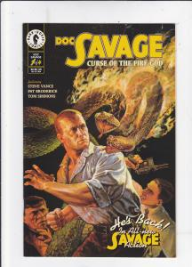 Doc Savage: Cuse of the Fire God #1