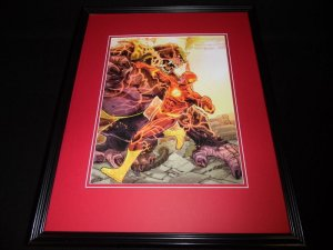 Flash 2015 DC New 52 Framed 11x14 Photo Poster