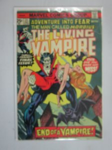 Fear #31 featuring Morbius last issue 3.0 GD VG (1975)