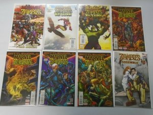 Marvel Zombies comic lot 23 different issues 8.0 VF