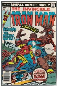 IRON MAN 89 VG-F Aug. 1976