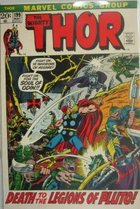 The Mighty Thor #199 - 6.5 FN+ - 1972