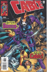 Cable #83 (Sept 2000) - Enter Domino, Exit Cable! - X-Men