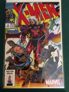 X-Men #2 reprint came with marvel legends Magneto