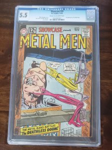 Showcase 39 CGC 5.5 3rd appearance of the Metal Men
