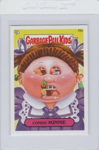 Garbage Pail Kids Condo Minnie 29a GPK 2014 Series 1 trading card sticker