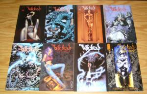 the Wicked #1-7 VF/NM complete series + medusa's tale + preview + (2) variants