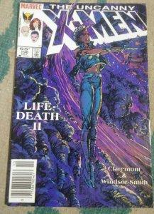 UNCANNY X-MEN # 198 1985 MARVEL STORM  FORGE LIFEDEATH II- BWS CLAREMONT