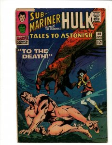 Tales To Astonish # 80 VG Marvel Comic Book Giant Man & Incredible Hulk BJ1